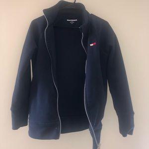 Tommy Hilfiger navy blue fleece zip up